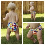 Cutest diaper in our stash!