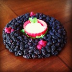 Holiday Centerpiece with Driscoll's Berries