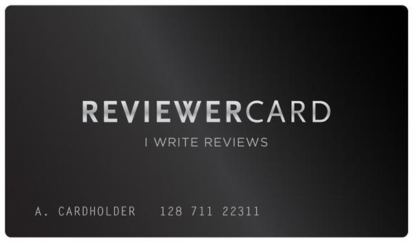 reviewer card