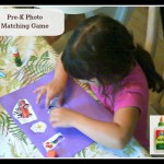 Homeschooling: Pre-K Matching Game With Elmers Natural Glue