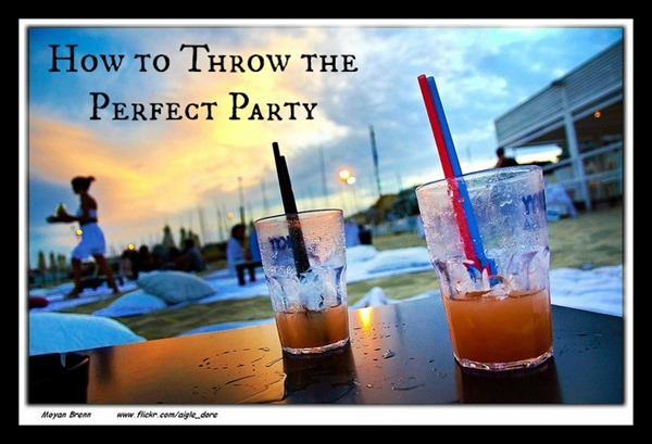 how to throw the perfect party You've just received some great news: your best friend since high school is finally getting married to the partner of his dreams they've been together, and you're psyched for them.