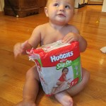 New Huggies Slip On Diapers