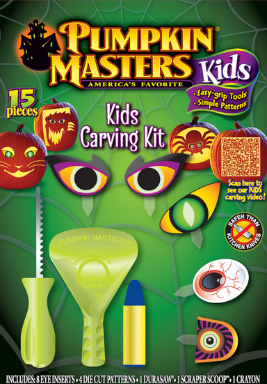 Kids Pumpkin Carving Kit