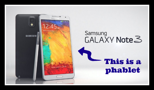 What is a phablet?