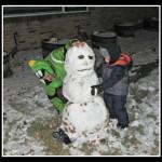 First Snowman 2013