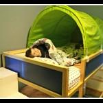 IKEA KURA Loft Bed: Levi's new big boy room