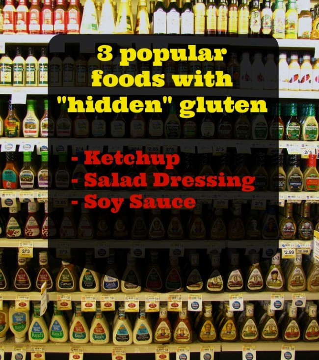 Hidden gluten in popular condiments