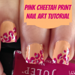 Cheetah Print Nail Art Tutorial