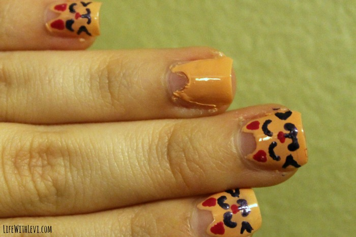 cute kitty nail art shape