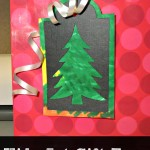 Kids Art Gift Tags + Silhouette Giveaway