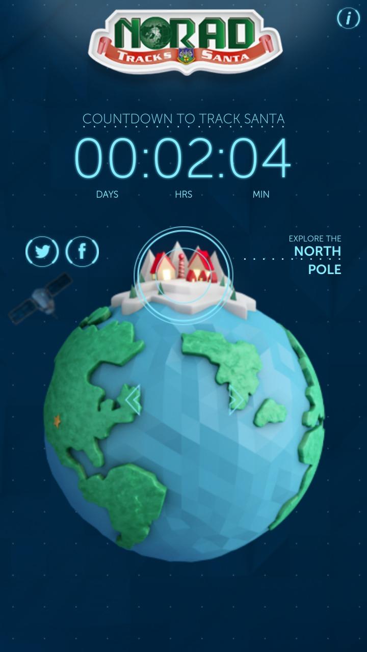 NORAD_Santa_Tracker_App
