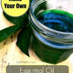 DIY Essential Oil Gel Air Freshener