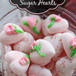 Simple Sugar Hearts - Instructions at LifeWithLevi.com