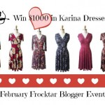 $1000 Karina Dresses #Frockstar February Giveaway