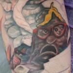 Fraggle Rock Tattoo Update: Trash Heap