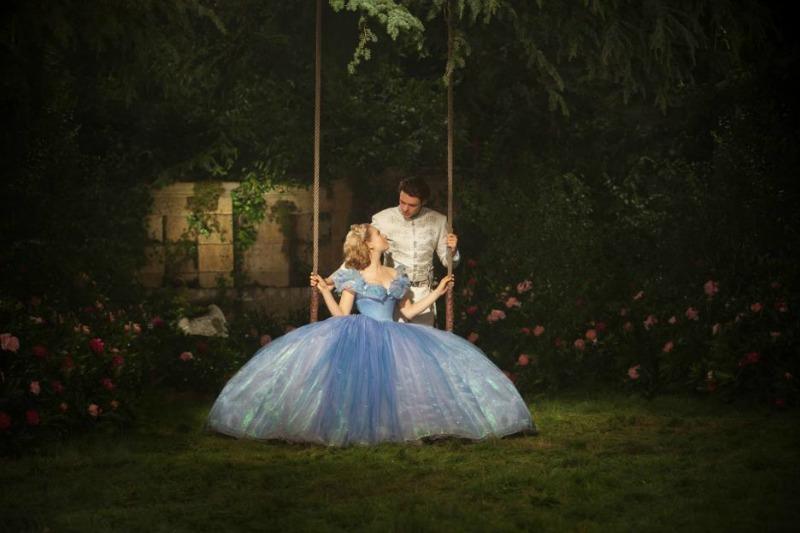 Cinderella Prince Charming Ballgown Swing Scene