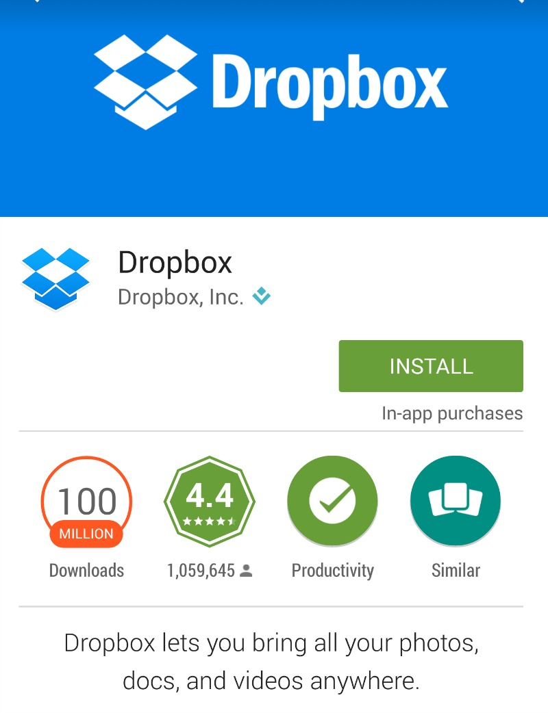 how to delete all photos from dropbox