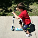 Minions on Wheels Giveaway: Dynacraft Folding Scooter