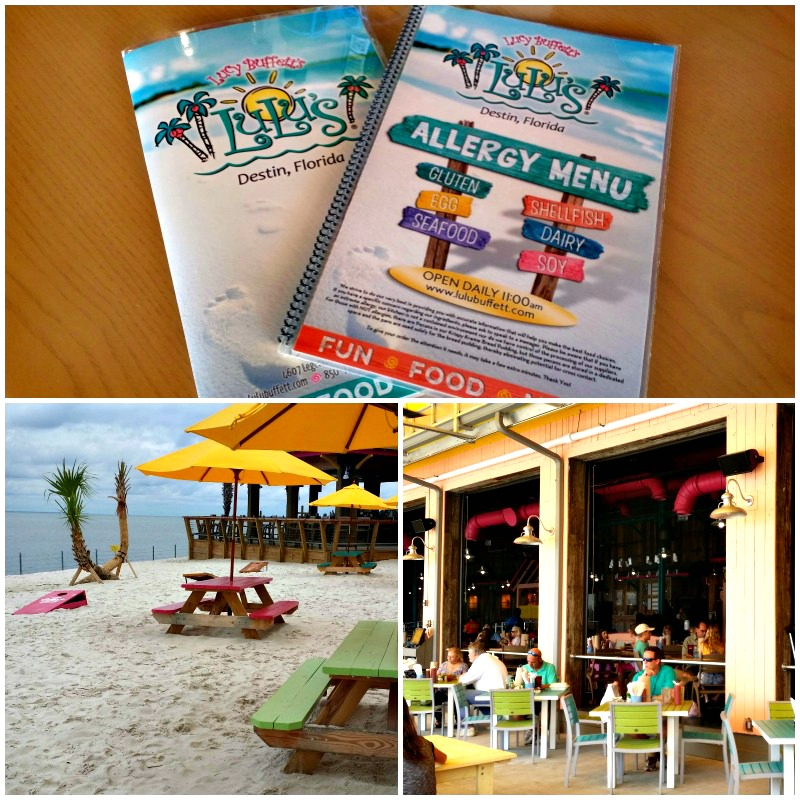 Lulus Destin is an allergy-friendly family dining option in the Emerald Coast area