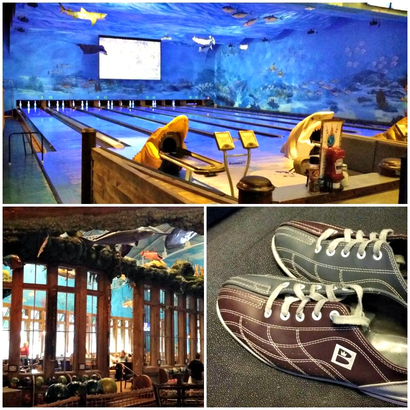 Bowling and private parties are two features you can find at Uncle Bucks