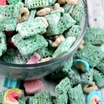 Lucky Leprechaun Puppy Chow (Muddy Buddies)