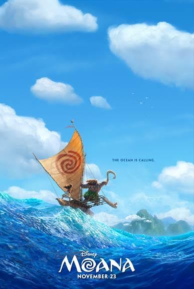 Disney Moana Coming November 2016