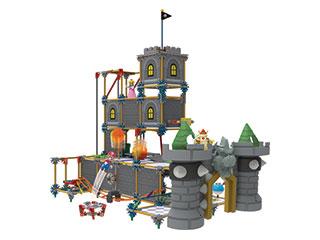 K Nex Super Mario Bros Bowser S Castle Building Set