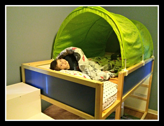 Ikea Kura Loft Bed Levi S New Big Boy Room Life With