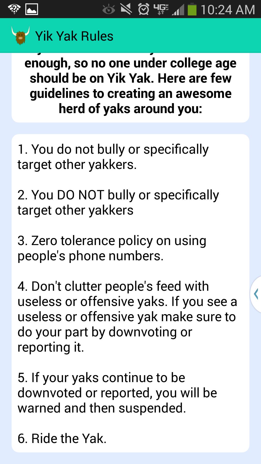 Dangerous App Alert: Yik Yak is a virtual playground for