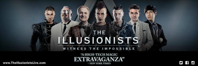 Magic Adult illusionists
