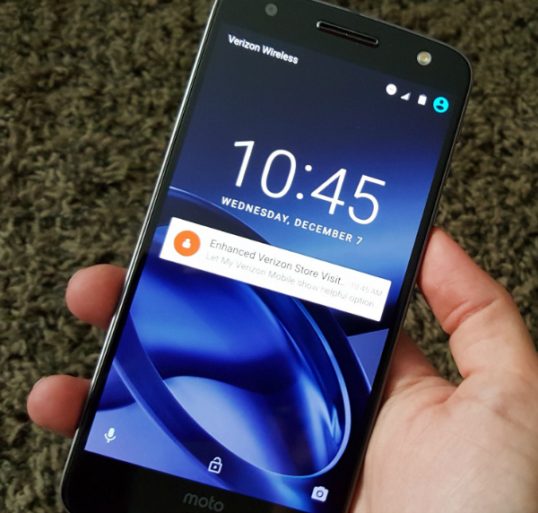 Moto Z Force Droid - AKA The Battery That Lasts Forever